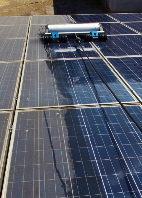 Photovoltaikreinigung PV Reinigung Solaranlagen Solarreinigung